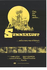 Summerlust - 11 x 17 Movie Poster - Style A