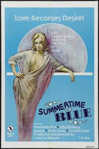 Summertime Blue - 11 x 17 Movie Poster - Style A