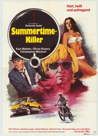 Summertime Killer - 27 x 40 Movie Poster - German Style A