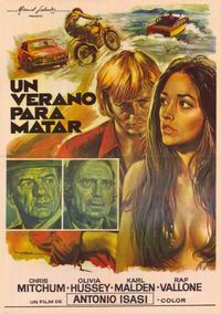 Summertime Killer - 11 x 17 Movie Poster - Spanish Style A