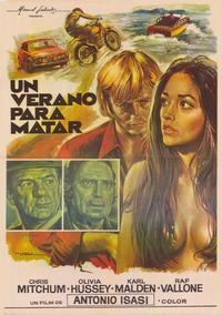 Summertime Killer - 27 x 40 Movie Poster - Spanish Style A