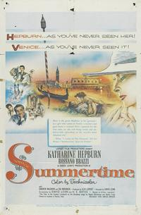 Summertime - 11 x 17 Movie Poster - Style A