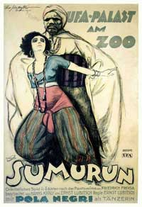 Sumurun - 11 x 17 Movie Poster - German Style A