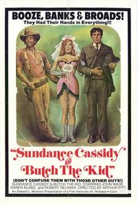 Sundance Cassidy and Butch the Kid - 27 x 40 Movie Poster - Style A