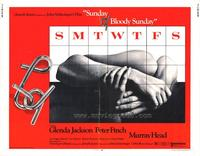 Sunday, Bloody Sunday - 11 x 14 Movie Poster - Style B