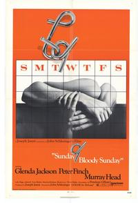 Sunday, Bloody Sunday - 27 x 40 Movie Poster - Style A