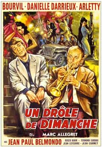 Sunday Encounter - 11 x 17 Movie Poster - French Style A