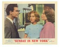 Sunday in New York - 11 x 14 Movie Poster - Style B