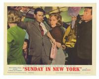 Sunday in New York - 11 x 14 Movie Poster - Style C