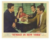Sunday in New York - 11 x 14 Movie Poster - Style D