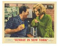 Sunday in New York - 11 x 14 Movie Poster - Style E