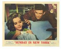 Sunday in New York - 11 x 14 Movie Poster - Style F