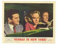 Sunday in New York - 11 x 14 Movie Poster - Style H