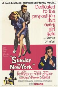 Sunday in New York - 27 x 40 Movie Poster - Style B