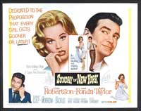 Sunday in New York - 22 x 28 Movie Poster - Half Sheet Style A