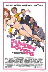 Sunday Lovers - 11 x 17 Movie Poster - Style A