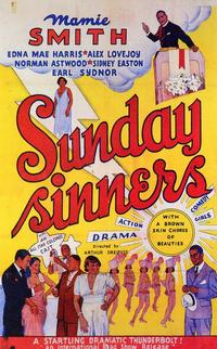 Sunday Sinners - 11 x 17 Movie Poster - Style A