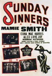 Sunday Sinners - 11 x 17 Movie Poster - Style B
