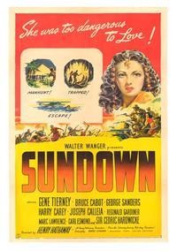 Sundown - 11 x 17 Movie Poster - Style A