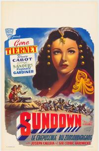 Sundown - 11 x 17 Movie Poster - Belgian Style A