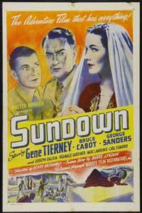 Sundown - 11 x 17 Movie Poster - Style B