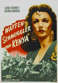 Sundown - 11 x 17 Movie Poster - German Style A