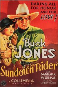 Sundown Rider - 11 x 17 Movie Poster - Style A