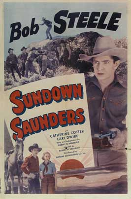 Sundown Saunders - 27 x 40 Movie Poster - Style A