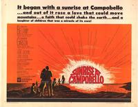 Sunrise at Campobello - 22 x 28 Movie Poster - Half Sheet Style A