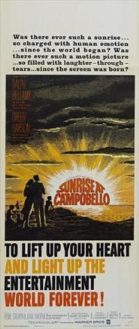 Sunrise at Campobello - 14 x 36 Movie Poster - Insert Style A