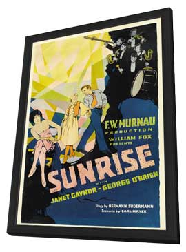 Sunrise - 27 x 40 Movie Poster - Style B - in Deluxe Wood Frame