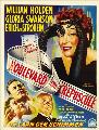 Sunset Blvd. - 11 x 17 Movie Poster - Belgian Style A