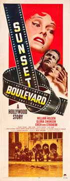 Sunset Blvd. - 14 x 36 Movie Poster - Insert Style A