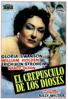 Sunset Blvd. - 11 x 17 Movie Poster - Spanish Style A