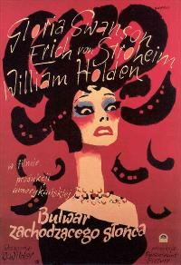 Sunset Blvd. - 11 x 17 Movie Poster - Polish Style A