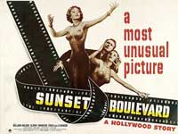 Sunset Blvd. - 22 x 28 Movie Poster - Half Sheet Style A