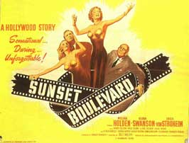 Sunset Blvd. - 11 x 14 Movie Poster - Style A