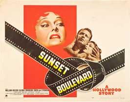 Sunset Blvd. - 11 x 14 Movie Poster - Style B