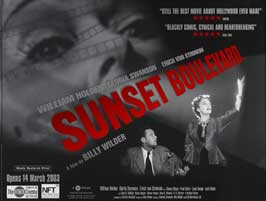 Sunset Blvd. - 30 x 40 Movie Poster UK - Style A