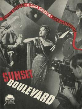 Sunset Blvd. - 11 x 17 Movie Poster - Danish Style A