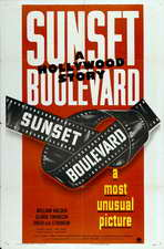 Sunset Boulevard - 11 x 17 Movie Poster - Style G