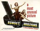 Sunset Boulevard - 11 x 14 Movie Poster - Style D