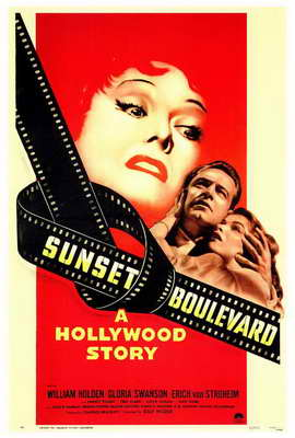 Sunset Boulevard - 27 x 40 Movie Poster - Style A