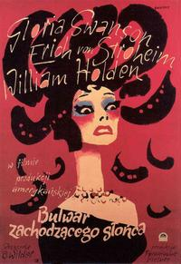 Sunset Boulevard - 11 x 17 Movie Poster - Polish Style B