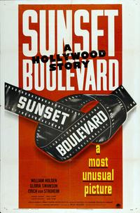 Sunset Boulevard - 27 x 40 Movie Poster - Style G