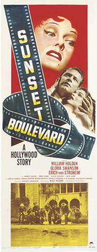 Sunset Boulevard - 27 x 40 Movie Poster