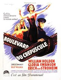 Sunset Boulevard - 11 x 17 Movie Poster - French Style A