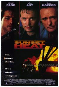 Sunset Heat - 11 x 17 Movie Poster - Style A