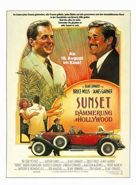 Sunset - 11 x 17 Movie Poster - German Style A