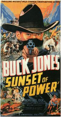 Sunset of Power - 11 x 17 Movie Poster - Style A